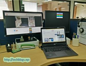 Fujitsu Lifebook T904 Docked 1 LCD Working