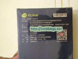 Lenovo K3 Note K50-t5